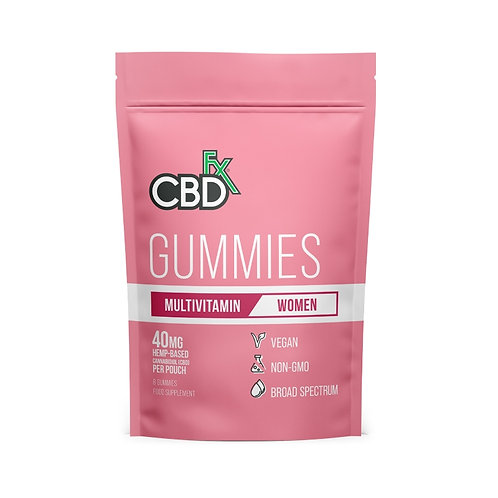 CBD Gummies Multivitamina para mujeres 40mg
