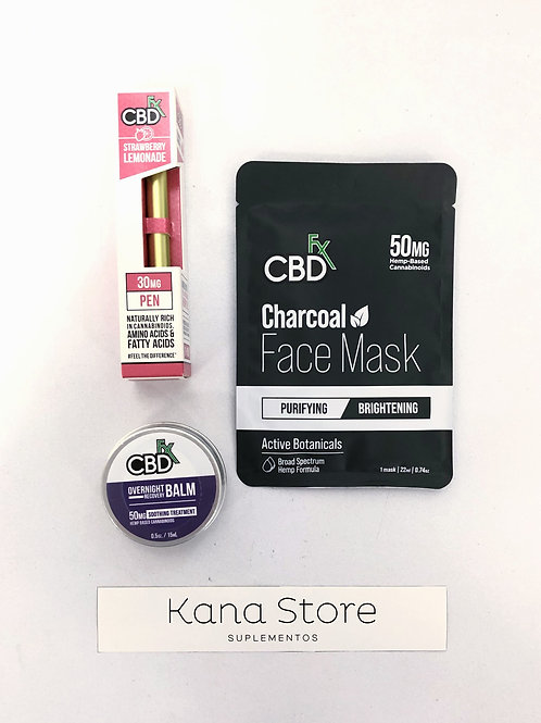 Face Mask + Vape Pen + CBD Balm