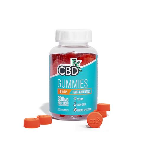 CBD Gummies para cabello y uñas con Biotina