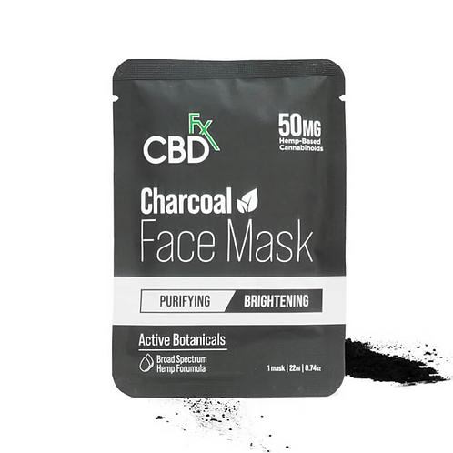 Mascarilla CBD de Carbón Activado