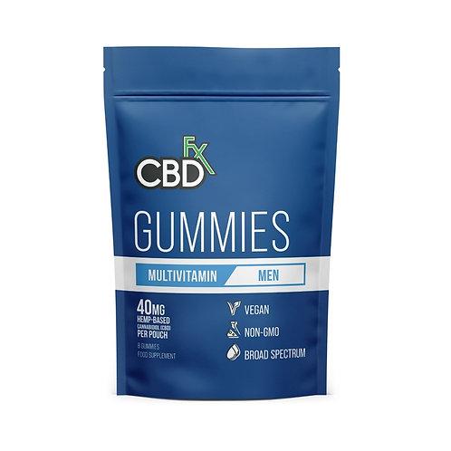 CBD Gummies Multivitamina para hombres 40mg