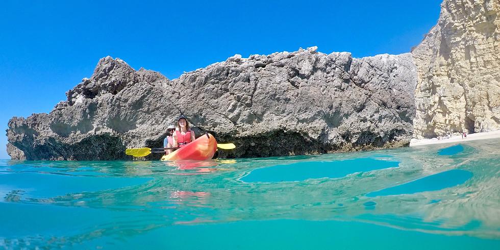 Passeio de Kayak Sit-on-top em Sesimbra