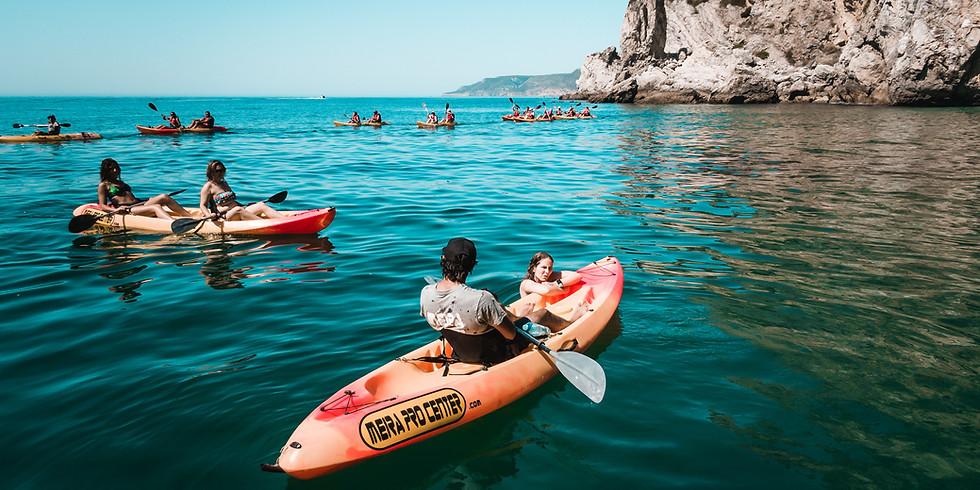Kayak trip along the beaches of Sesimbra