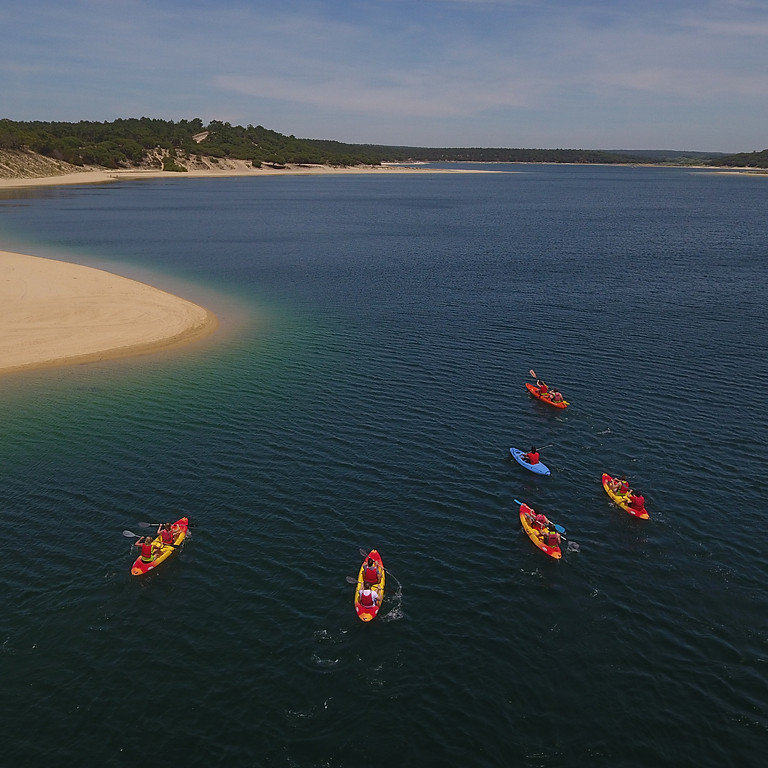 Albufeira Lagoon Kayak Tour