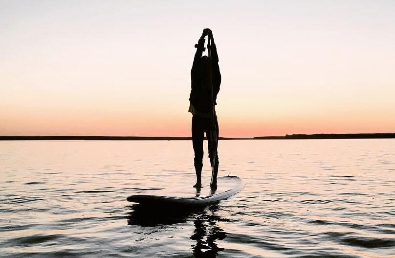 Sunset SUP na Lagoa
