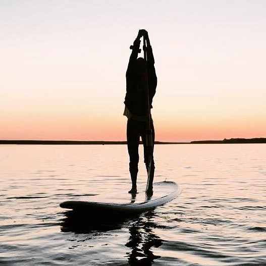 SUP & YOGA at Sunrise