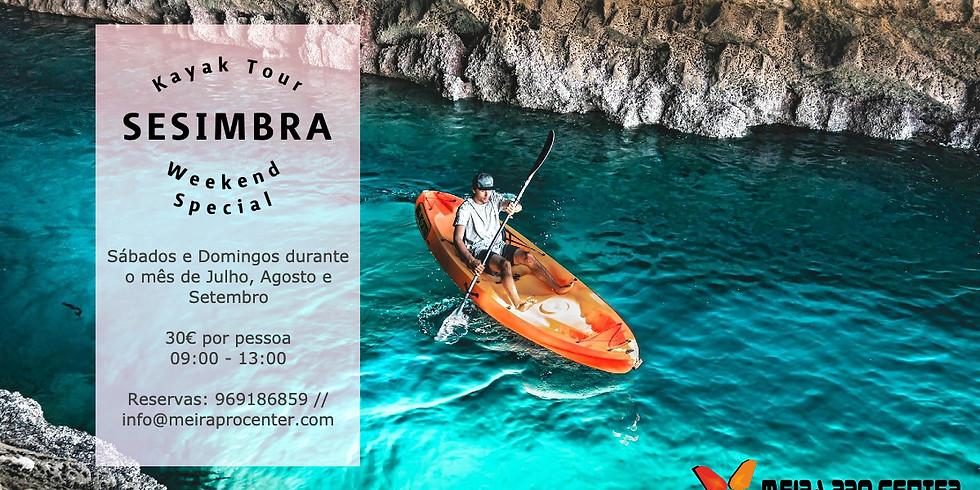Kayak Tour Sesimbra - Weekend Special