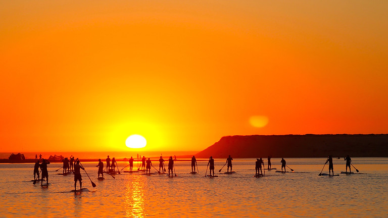 Sunset Tour - Kayak or Stand Up Paddle with YOGA