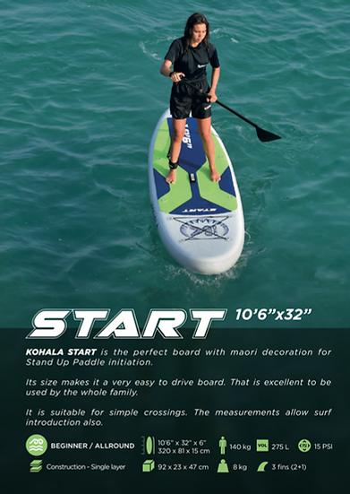 "DVSport Start 10'6""x32""x6"" - Stock entre 15 e 20 Setembro"
