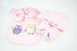 baby girls owl gift sets