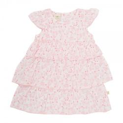 Tiny Twig baby girls layered dress &
