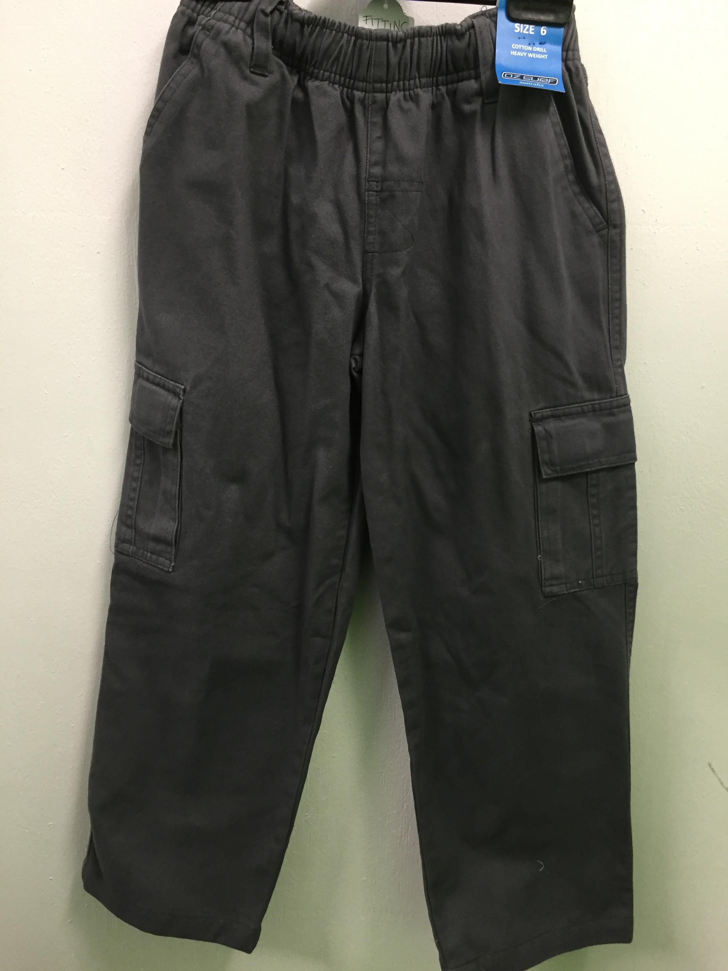 Oz Surf boys grey shorts