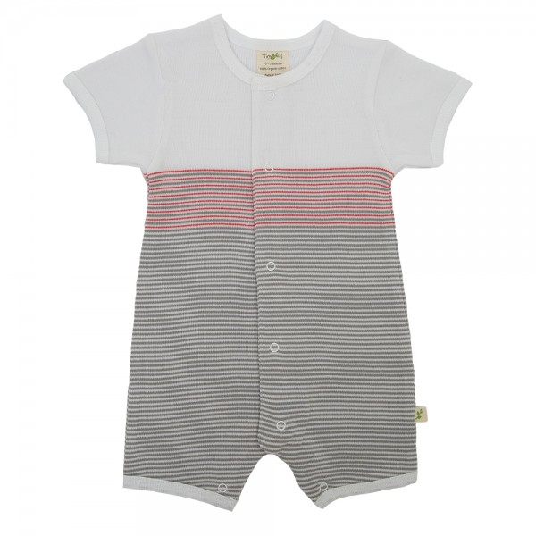 Tiny Twig baby boys contrast romper