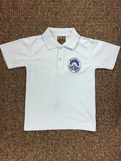 LWR unisex sky blue  polo shirt
