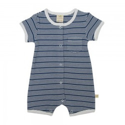 Tiny Twig baby boys rugby romper