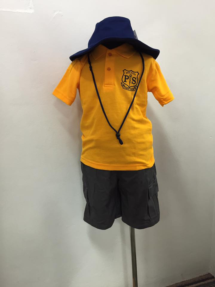 Milton Primary School uniform