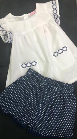 girls shorts & swing top