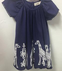 girls giraffe dress