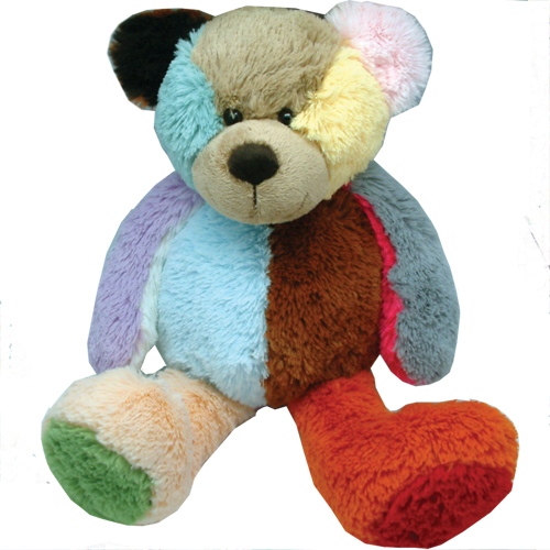 patch bear plush toy