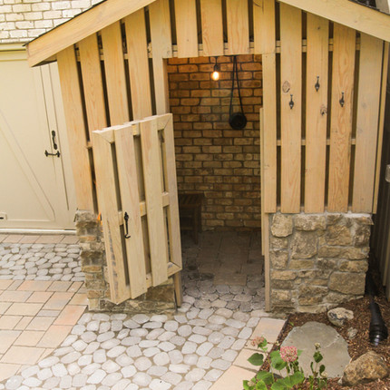 AFTER-Transformation of Unusable Space into Backyard Retreat