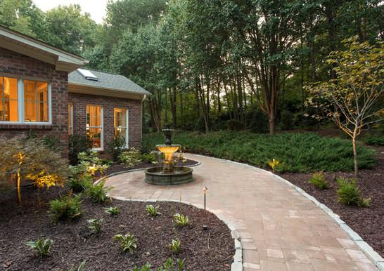 Natural Stone Veneer, Landscape and Landscape Lighting