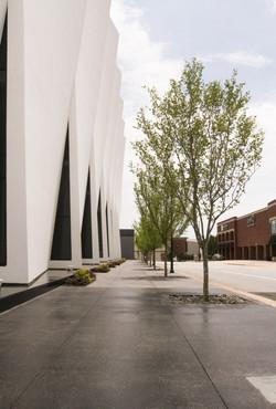 Granite Pavers sidewalk downtown HP