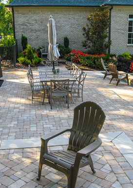 Natural Stone Flooring and Retaining Wall