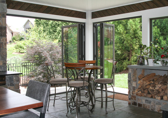 Custom Home Editions Incorporating Outdoor Living