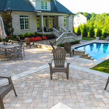 Beautiful neutral tones custom natural stone and cultured stone veneer