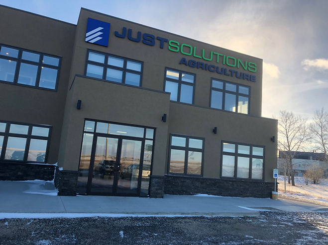 Just Solutions Agriculture Office Building in Moose Jaw, Saskatchewan