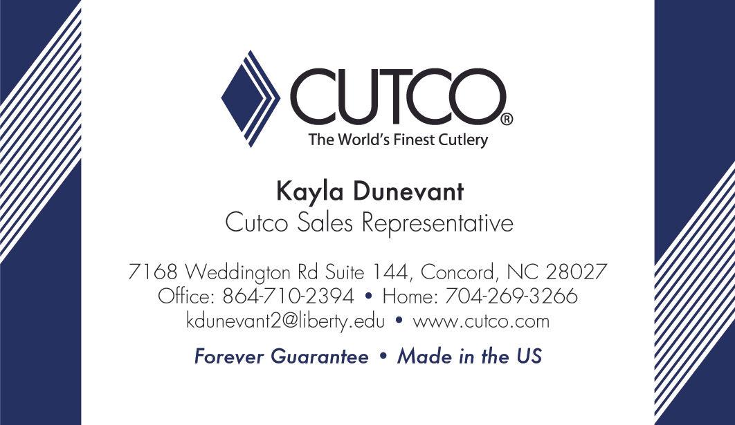 Cute Cutco Business Cards Images Card Ideas Etadam Info