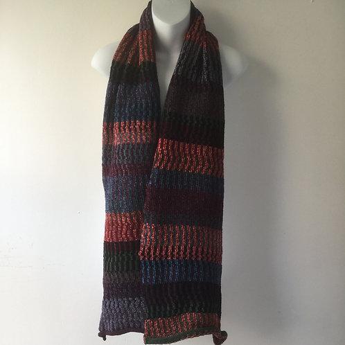 Multi-colour Wool Chenille Scarve