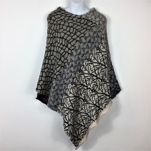 Reversible Patterned Poncho