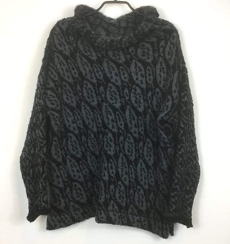 Mid Black Charcoal Sweater