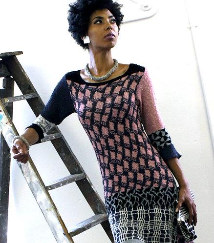 Five Pattern Dress