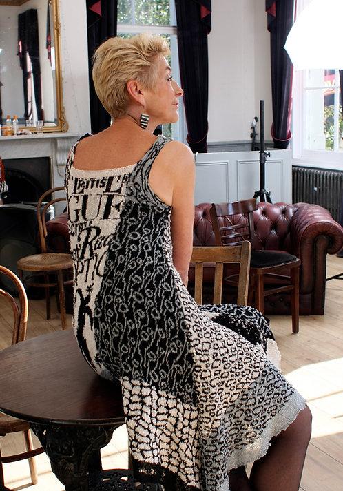One-off ArtKnit Flowing Dress