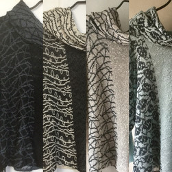 Drop stitch and patterned tops