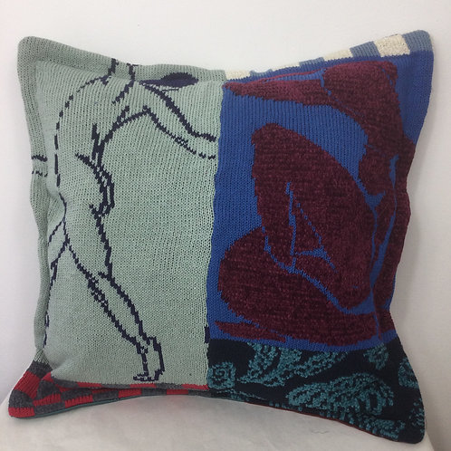 Mostly Matisse ArtKnit Cushions -Dancer
