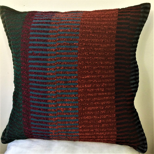 SAMPLE Multi Wool Chenille Cushion