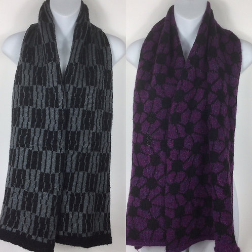 SAMPLE SALE: Knitted mohair scarf