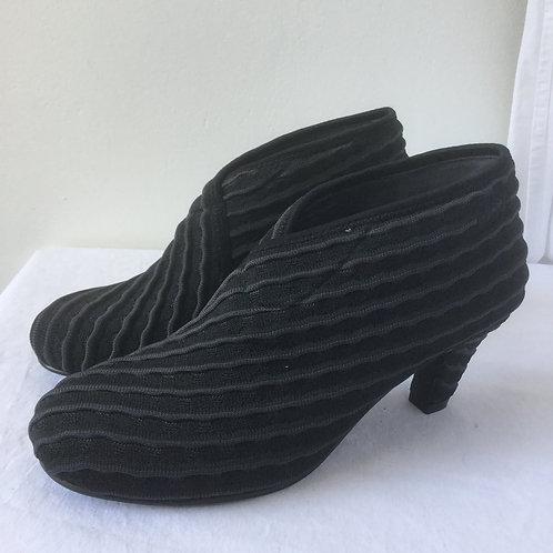 Mid Fold UN Shoes - Asphelt
