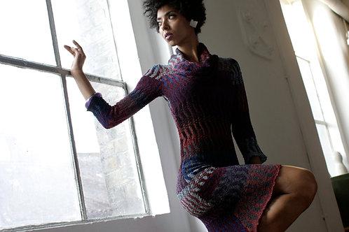 Long sleeved ZigZag Dress