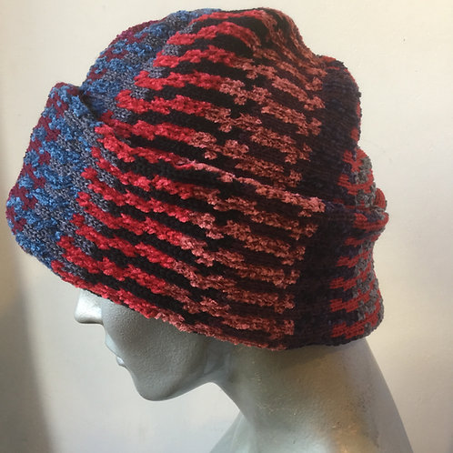 Knitted pull-on hat - various colours