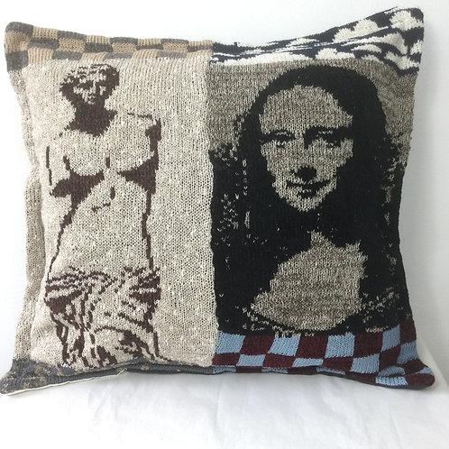 Artknit Classic Cushion - Mona Lisa