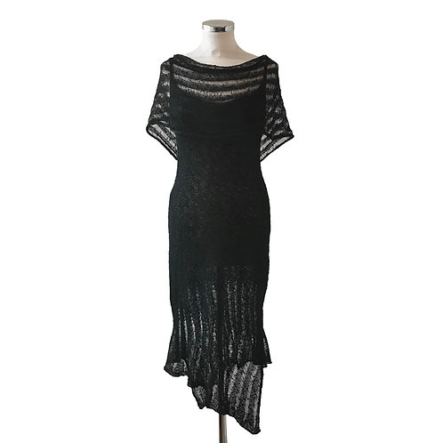 Drop Stitch Strap Dress