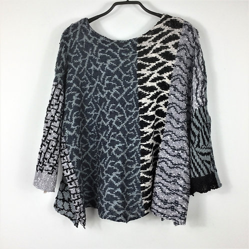 Reversible Multi Pattern 'One-Off' Top