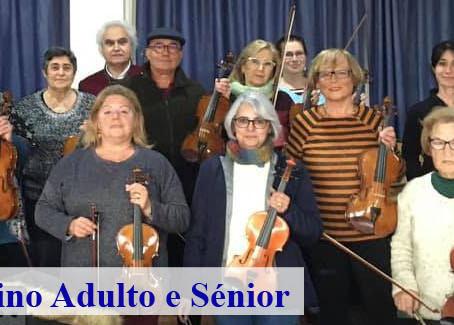Inscrição no Grupo de Violino Adulto e Sénior