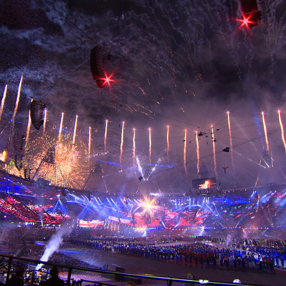 London 2012 Olympics Closing Ceremony
