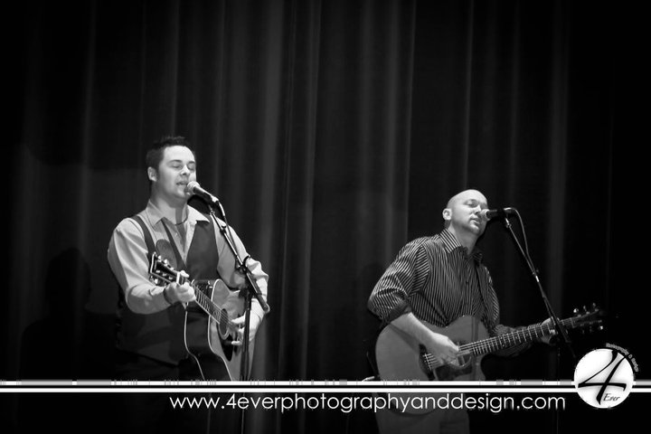 Performing with Hubie Ashcraft