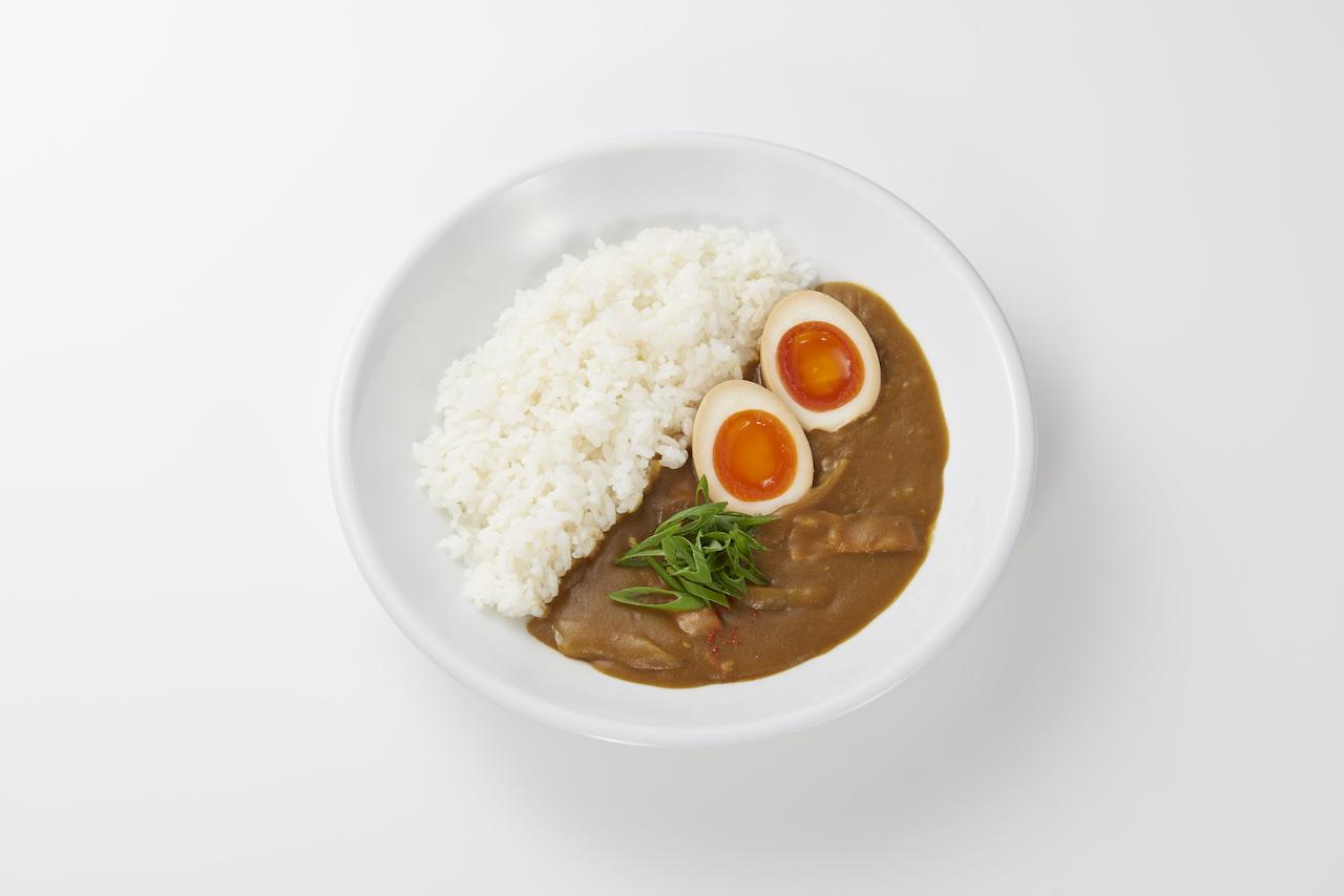 とろ〜り煮卵カレー